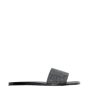 Eddy Daniele Roxy56 Women's Grey Leather Sandals