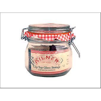 Kilner Clip Jar Round 0.5L 0025.490