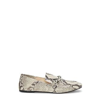 Vince Camuto Womens Perenna Leather Closed Toe Slide Flats