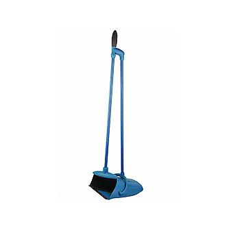 Greener Cleaner Greener Cleaner Lobby Brush & Pan Set Blue GCB013BLUE