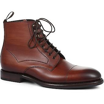 Loake Mens Hirst Handmade Leather Ankle Boots