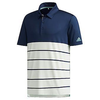 adidas Golf mens Ultimate365 Heather Stretch manga corta Polo camiseta Top