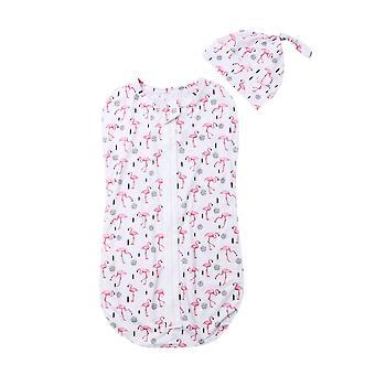 Baby Swaddle, Muslin Blanket ,  Infant Sleeping Bags, Kids Zipper Wrap,
