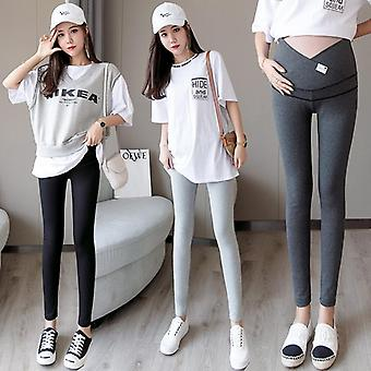Skinny Maternity Across V Low Waist Belly Legging