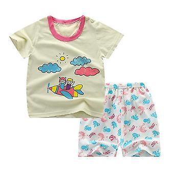 ملابس الطفل الدعاوى، الملابس نمط الأسماك مجموعات تي شيرت + السراويل