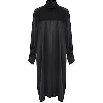 NU Long Sleeve Satin Dress