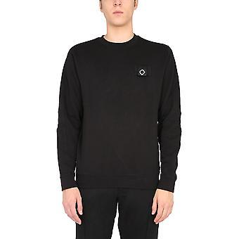 Ma.strum Mas4365m000 Men's Black Cotton Sweatshirt