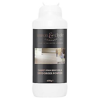Jenson & Clyde Carpet Stain Remover Deodoriser Powder 600g