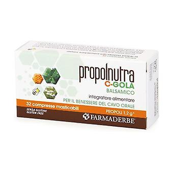 PROPOLNUTRA C GOLA 32CPR None
