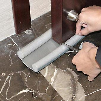 Flexible puerta inferior de sellado tira protector sellador tapón de viento bloqueador de polvo
