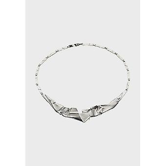 كاليفالا كولير المرأة اوريغامي 127 الفضة 235122044 - طول 445 مم