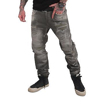 YAKUZA Men's Jeans 420 Straight