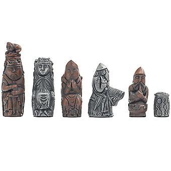بيركلي الشطرنج الشطرنج المعدني في القرون الوسطى الرجال