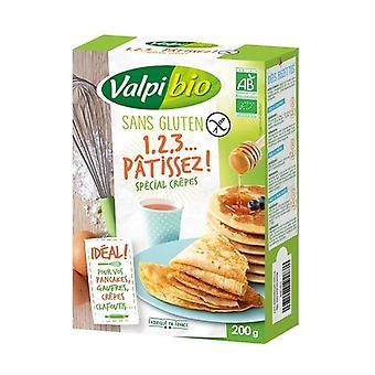1,2,3 Bake, special pancakes 200 g of powder