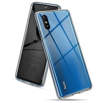 Coque Pour Xiaomi Redmi 9a, Housse De Protection En Silicone De Haute Qualité, Transparent