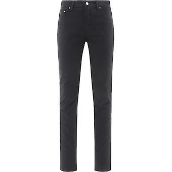 Acne Studios B00152black Men's Black Cotton Jeans