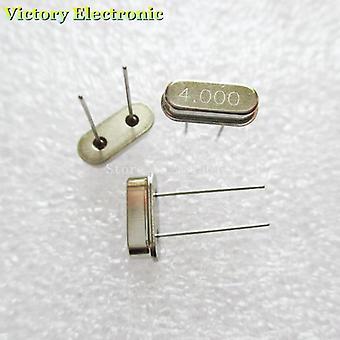 Krystalový oscilátor Rezonátor 4mhz 4m 4.000mhz 4.000m 4.000 49s Hc-49s Dip-2