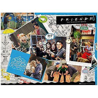 Vänner scrapbook 1000 bit pussel