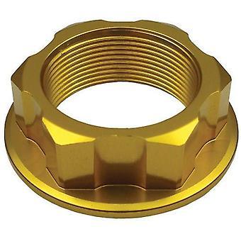 GP Pro Gold Steering Stem Nut - M24 x 32 x P1.0 x H12