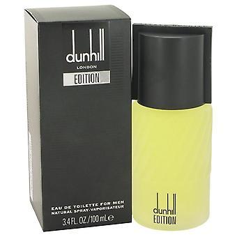 Dunhill Edition Eau De Toilette Spray Alfred Dunhill 3,4 oz Eau De Toilette Spray