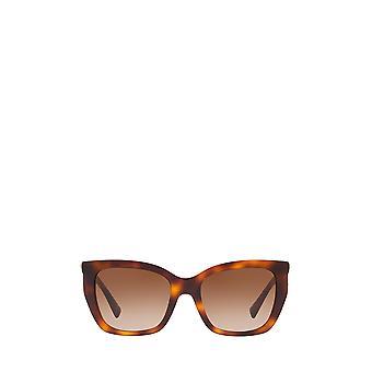 Valentino VA4048 havana vrouwelijke zonnebril