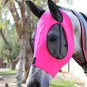 Anti-fly Anti-mosquito Horse Adjustable Mesh Horse Mask