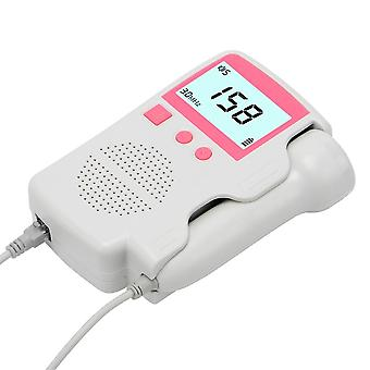 Upgraded Doppler Fetal Heart Rate Monitor Home Pregnancy Baby Fetal Sound