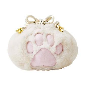 لطيف القط مخلب Drawstring حقيبة التجميل حقيبة التخزين المحمولة Drawstring الجيب الإبداعية الحب & ق هدية عيد ميلاد هدية يوم هدية