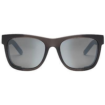 Electric California JJF12 Sunglasses - Dark Smoke/Polarised Silver