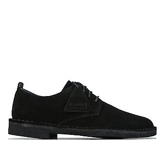 Women's Clarks Originals Desert London Shoes in Black