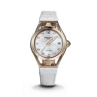 Locman wristwatch MONTECRISTO 0526R14D-RRMWIDPW