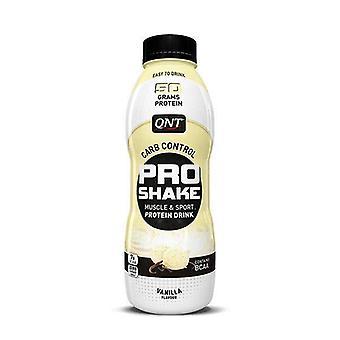 QNT Pro Shake izom & erősítő; Sport alacsony szénhidráttartalmú protein drink (vanília) 12 X 500ml