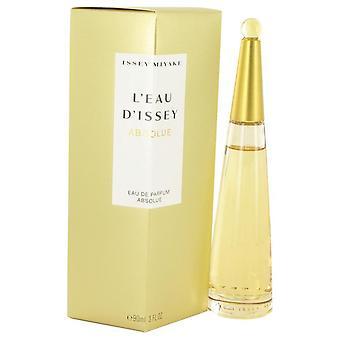 L'Eau d'Issey Absolue Eau De Parfum Spray por Issey Miyake 3 oz Eau De Parfum Spray