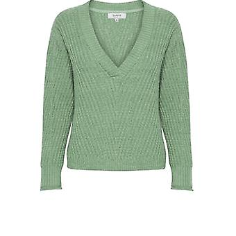 b.young Iceberg Green Jumper