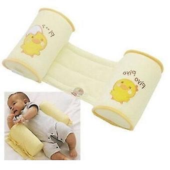 1 Pc Comfortable Cotton Anti Roll Pillow - Baby Sleep Head Positioner