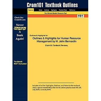 Outlines & Highlights for Human Resource Management by H. John Be
