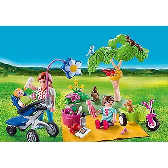 Playmobil family fun family picnic carry case