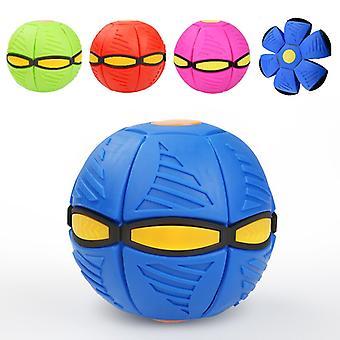 2/1pcs kinderen volwassen decompressie speelgoed magie vliegen UFO flat throw disc bal verlichten stress grappig tafelvoetbal spel misvormde schotel bal