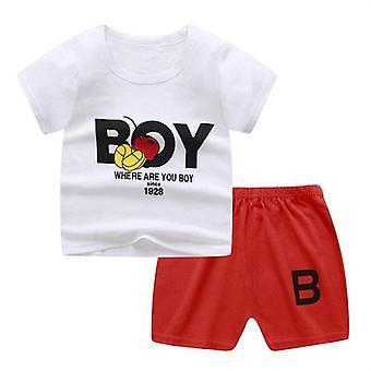 Baby Clothing Summer Cotton T-shirt + Pants