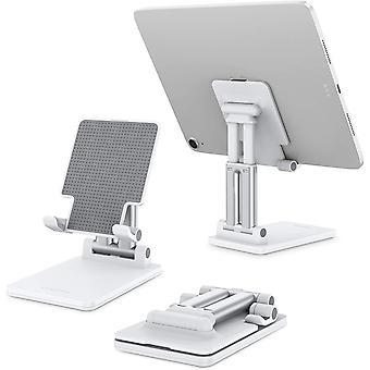 Wokex Tablet Stnder Faltbarer Tisch Halterung, hhenwinkelverstellbarer Aluminium Tablet Halter