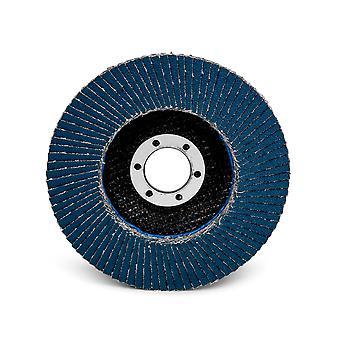 """3M 65039 3M 125 מ""""מ X 22Mm דש דיסק שטוח 566A P80 Dk כחול רגיל מקסימום Rpm: 12000"""