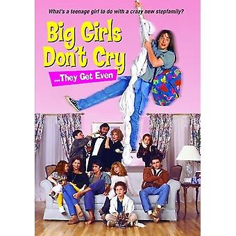 Big Girls Don't Cry They Get Even (1991) [DVD] Usa:n tuonti