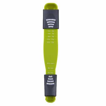 Adjustable Measuring Spoon, 0.5 to 13 ml - Green