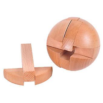 Puinen pallo Luban Lukko Puzzle Lelu