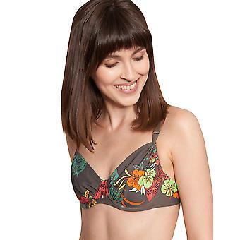 Rösch Beach 1215502-11759 Women's Hot Hibiscus Floral Bikini Set