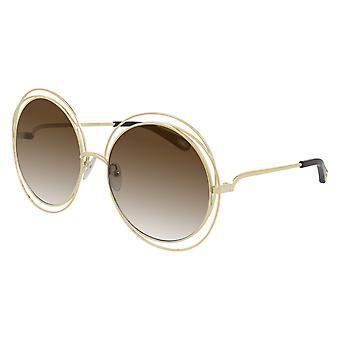 Chloe CH0045S 001 Guld/Brun Gradient Solglasögon