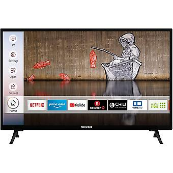 H32T52E 32 Zoll Fernseher (Smart TV inkl. Prime Video / Netflix / YouTube, HD ready, Works with