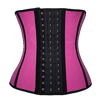 Gothic Retro Vintage Tapestry Steampunk Corset With Chain