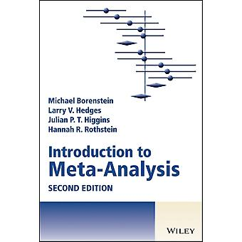 Introduction to MetaAnalysis by Michael Borenstein & Larry V Hedges & Julian P T Higgins & Hannah R Rothstein