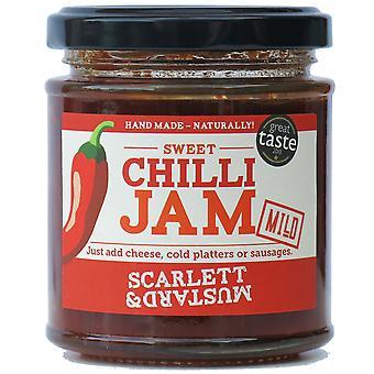 Scarlett & Mustard Billy's Chilli Jam